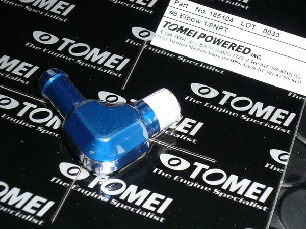 TOMEI 8φニップル 90度 エルボー 1/8NPT 汎用品